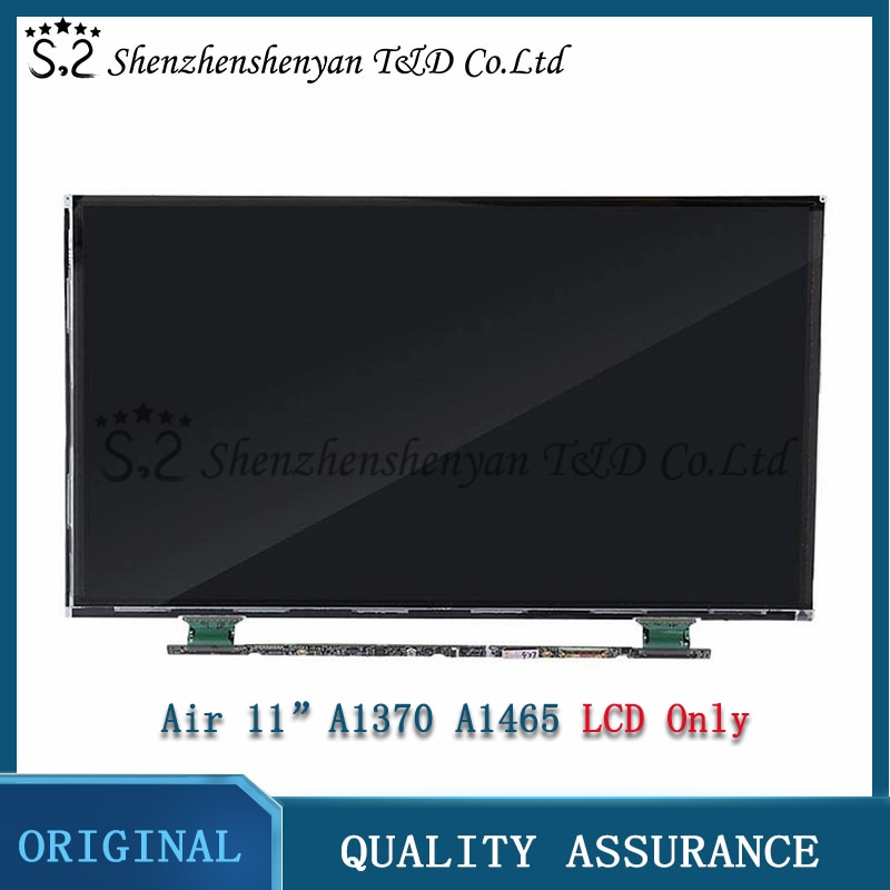 Promo Genuine NEW For MacBook Air 11″ A1465 LCD Screen Display LCD Only 2010 2012 2013 2014 2015 Year 661-7468 661-02345