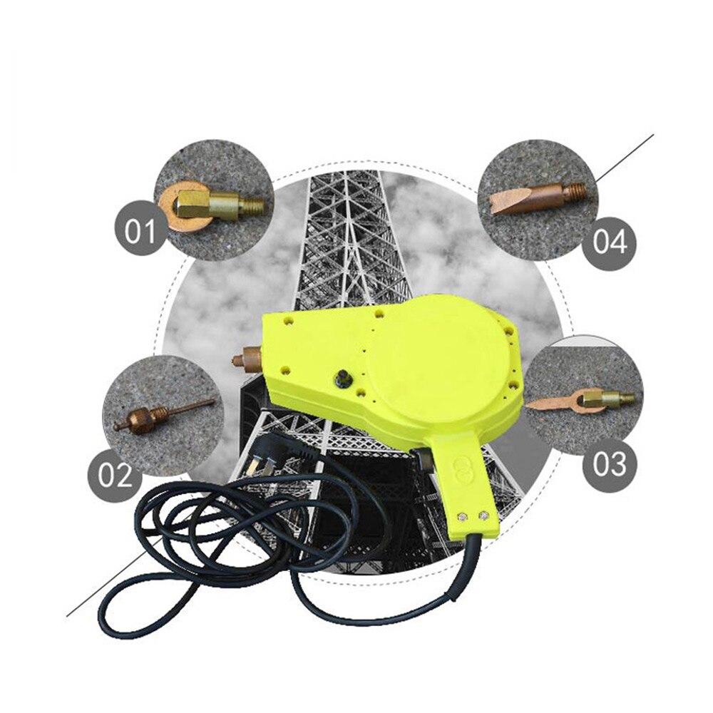 Portable sheet metal repair machine, car depression repair machine, handheld body meson shaping machine, spot welding machine enlarge