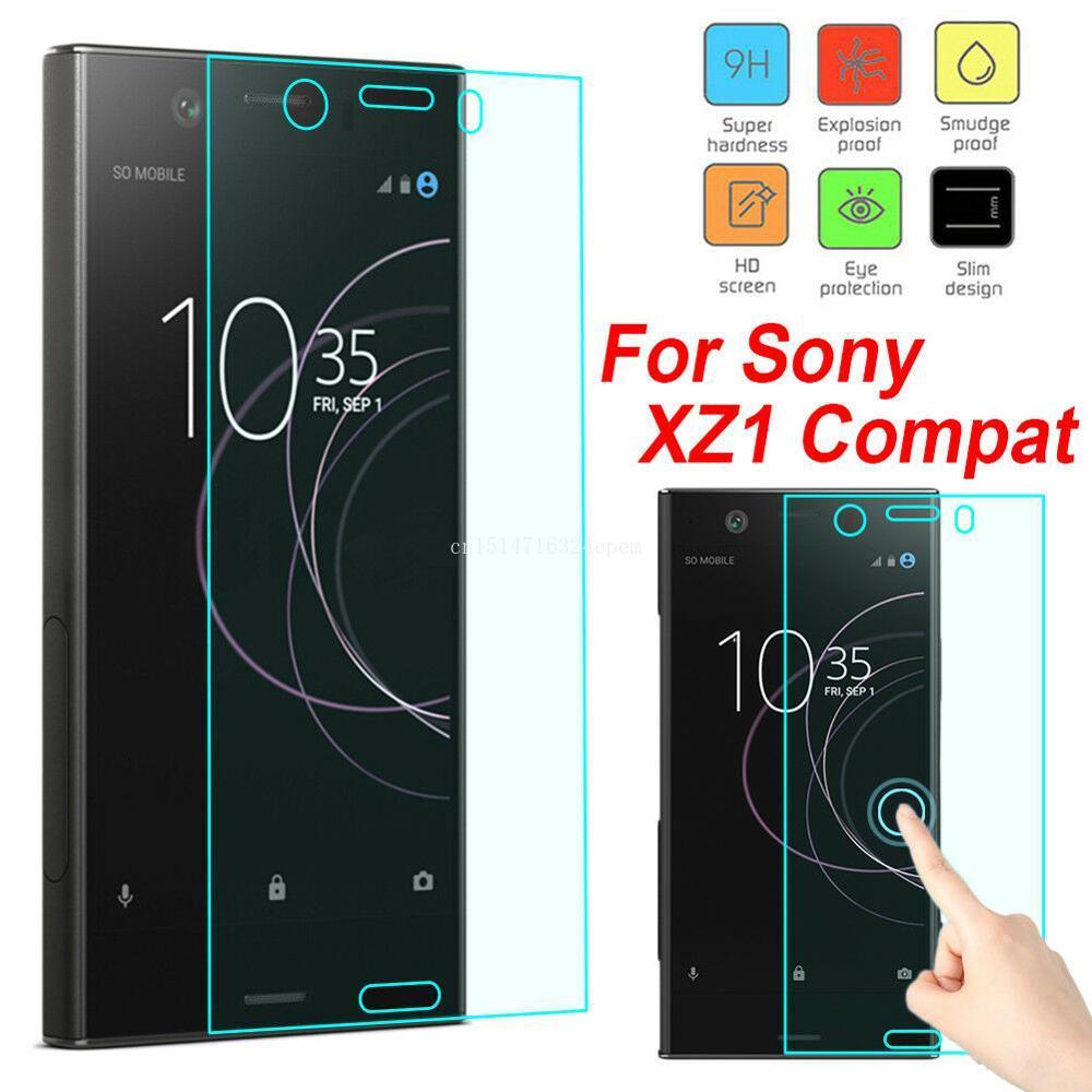 2 szt szkło hartowane dla Sony Xperia 1 XZ4 XZ3 X XZ1 X kompaktowy XA1 XA Ultra XZ XZS XZ2 XZ Premium szkło ochronne