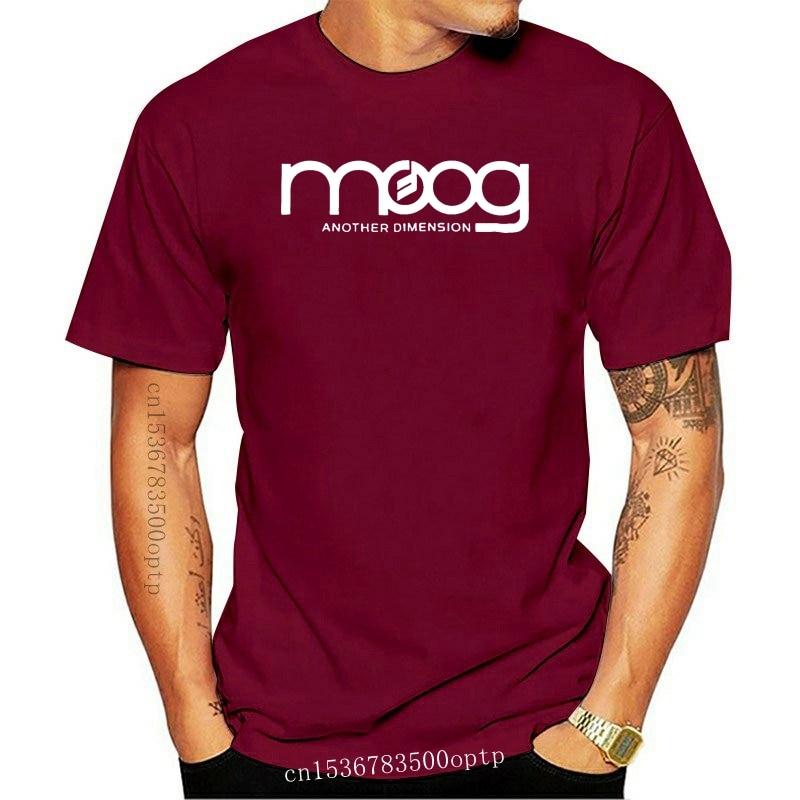 New Moog Synthesizer Another Dimension Men Tees S To 3Xl Black T Shirt Summer 2021 Brand T Shirt Men Hip Hop Men
