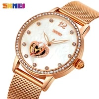 skmei automatic mechanical watch for women top brands luxury 3bar waterproof female ladies wristwatches relogio feminino 9255