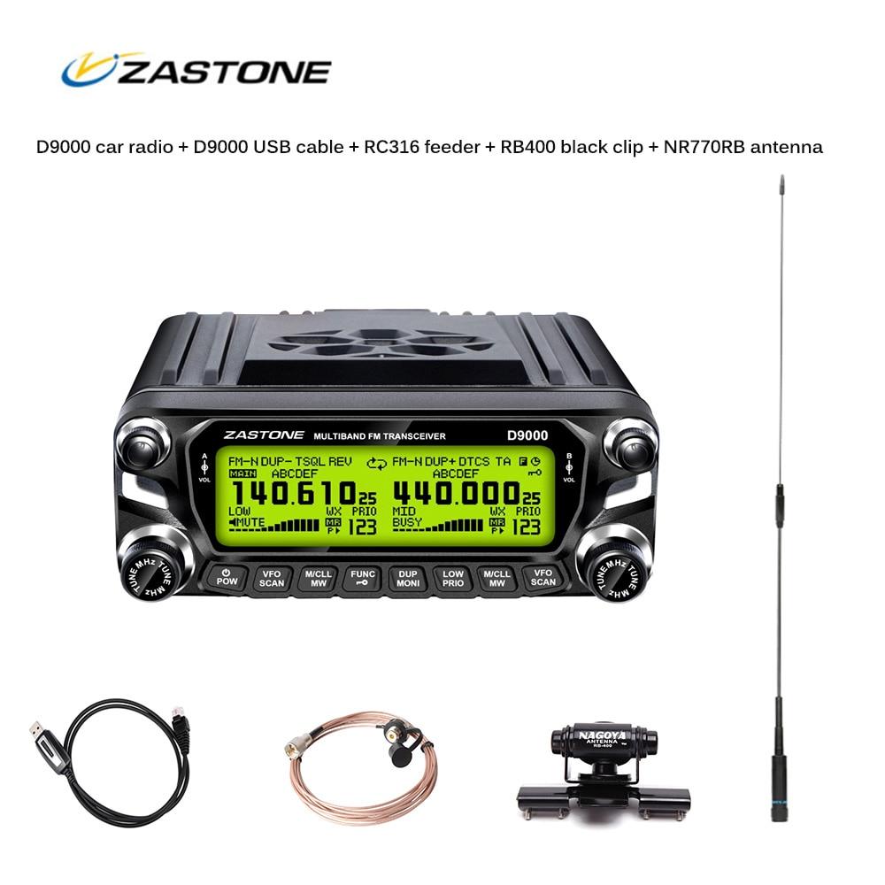 ZASTONE D9000 Car walkiet talkie LCD Enclosure Camouflage panel microphone Car two way radio parts