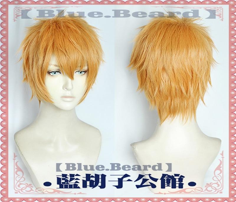 Anime Toilet-Bound Jibaku Shounen Minamoto Kou Cosplay Peluca de hombre corto resistente al calor pelucas de pelo sintético disfraz Cosplay