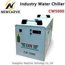 Refroidisseur dindustrie de refroidissement par eau CW5000 pour la Machine de Laser de CO2 refroidissant le Tube Laser de 80W 100W NEWCARVE