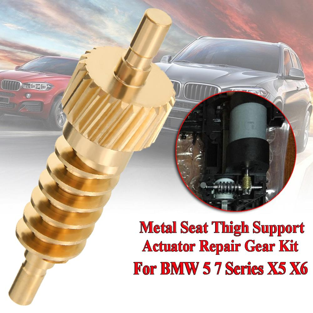 Car Seat Thigh Support Actuator Repair Gear 52107068045 For BMW 5 7 Series X5 X6 E60 E61 F07 F10 E65 E70 E71 Car Accessories