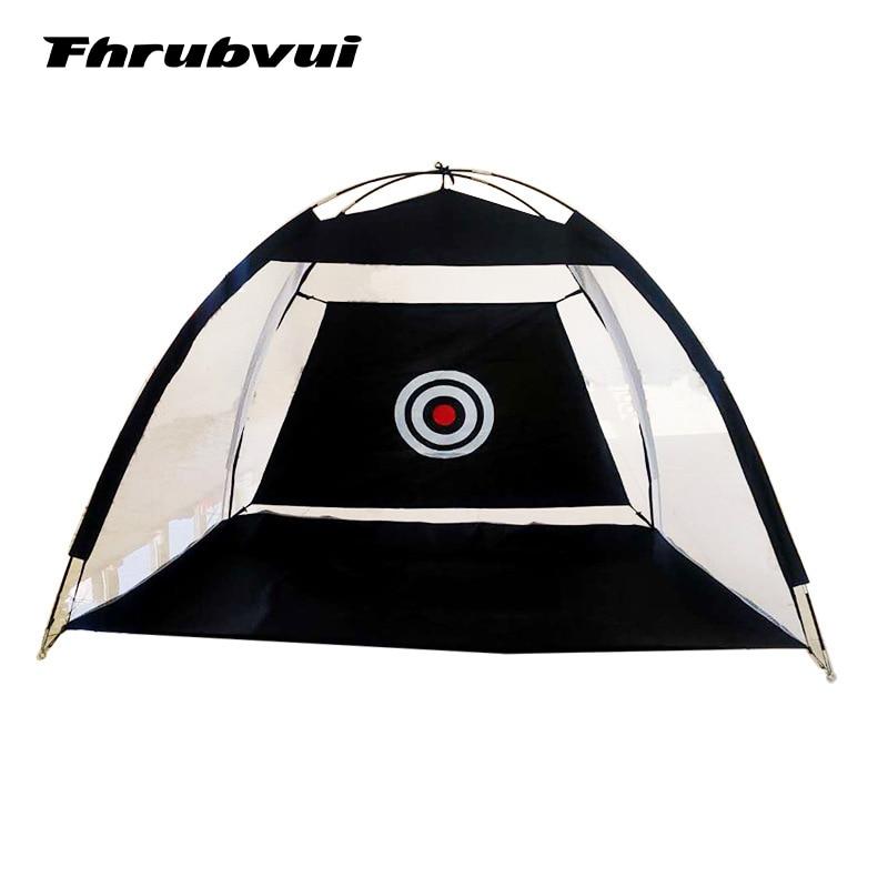 شبكة ممارسة الجولف القابلة للطي ، قفص ضرب الجولف ، خيمة ممارسة الحديقة ، 1 متر/2 متر ، مساعدات تدريب الجولف