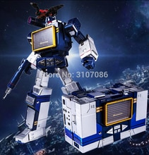 G1 Transformation THF THF-01J Soundwave THF01J THF01-JOne Band walkman Meisterwerk MP13 Oversize Legierung Figur Roboter Spielzeug