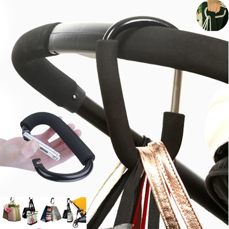7Colors Baby Stroller Accessories Hook Stroller Organizer Shopping Hooks Pram Hanger For Baby Car Bu