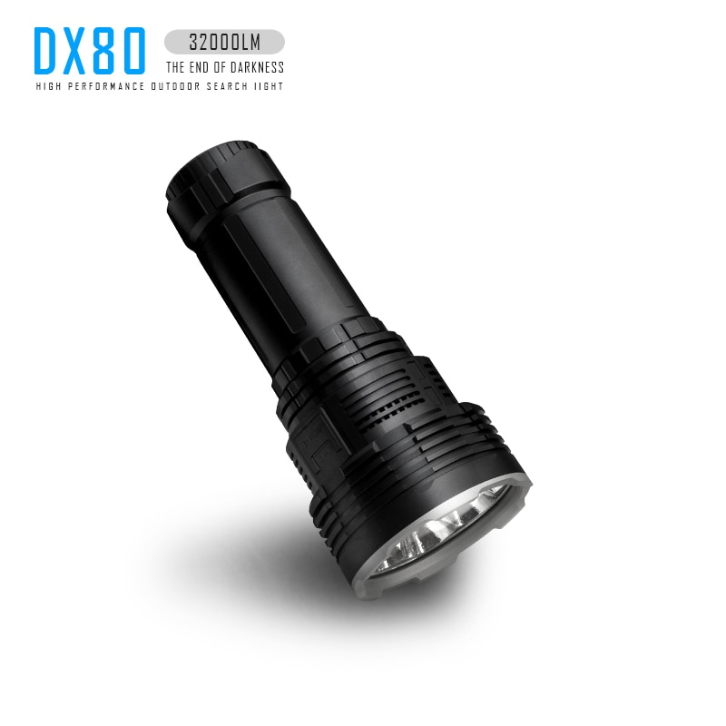 IMALENT DX80 Powerful Flashlight 32000LM Ultra Bright LED Rechargeable Torch Tactical Lantern Self-Defense Waterproof Outdoor enlarge
