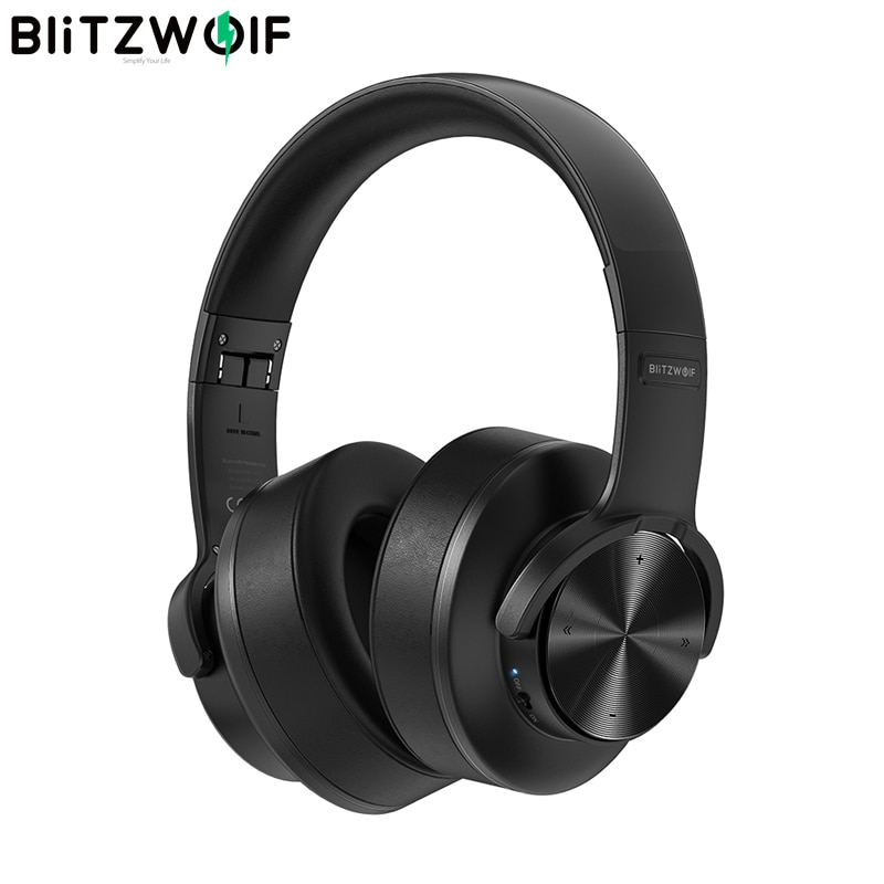 BlitzWolf BW-HP2 بلوتوث V5.0 سماعات سماعات رأس لاسلكية 50 مللي متر سائق اللمس التحكم طوي الإفراط في الأذن ألعاب سماعة رأس مزودة بميكروفون