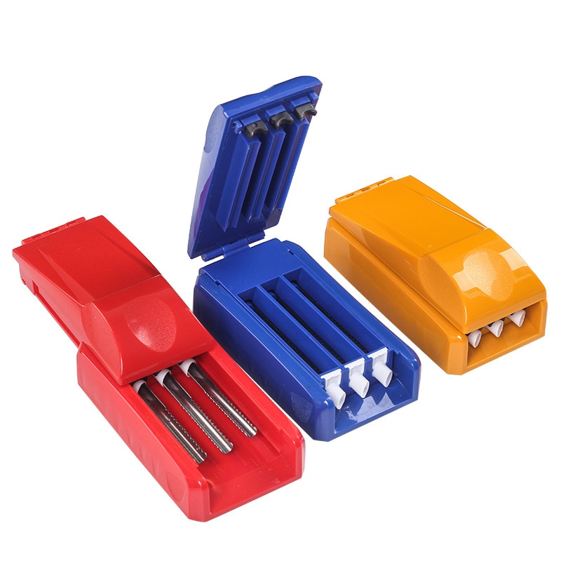 Tobacco-Roller Plastic Tobacco Roller With 3 Tubes Cigarette Manual Roller Smoking Accessorie