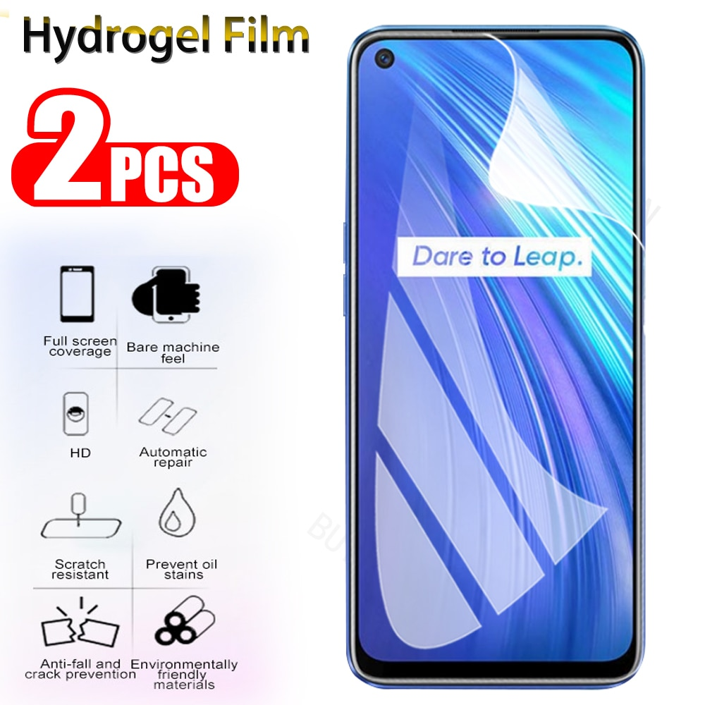2Pcs Protective 100D Hydrogel Film not Glass For OPPO Realme 2 XT 2 Pro 5s Full Soft Screen Protecto