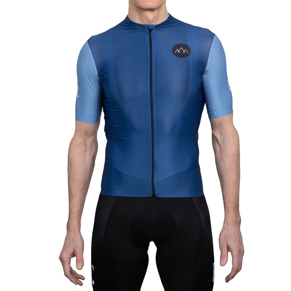 Bandofclimbers-maillot de ciclismo para hombre, conjunto completo de verano, ropa de ciclismo,...