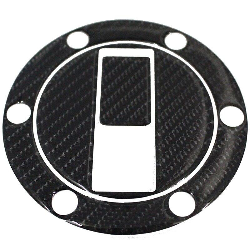 K-CGTCP-05 3D Carbon Fiber Tank Gas Cap Pad Filler Cover Sticker Decals Fit APRILIA SHIVER 750  TRIUMPH 07-14 KTM 990