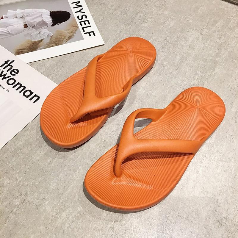 AliExpress - New Women Flip Flops Home Comfort Flat Slippers Women's Indoor EVA Non-slip Slippers Fashion Casual Slides Beach shoes