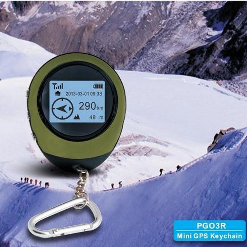 Миниатюрный GPS-навигатор с ресивером, ручной логгер с зарядкой от USB для обнаружения местоположения, компас путешественника