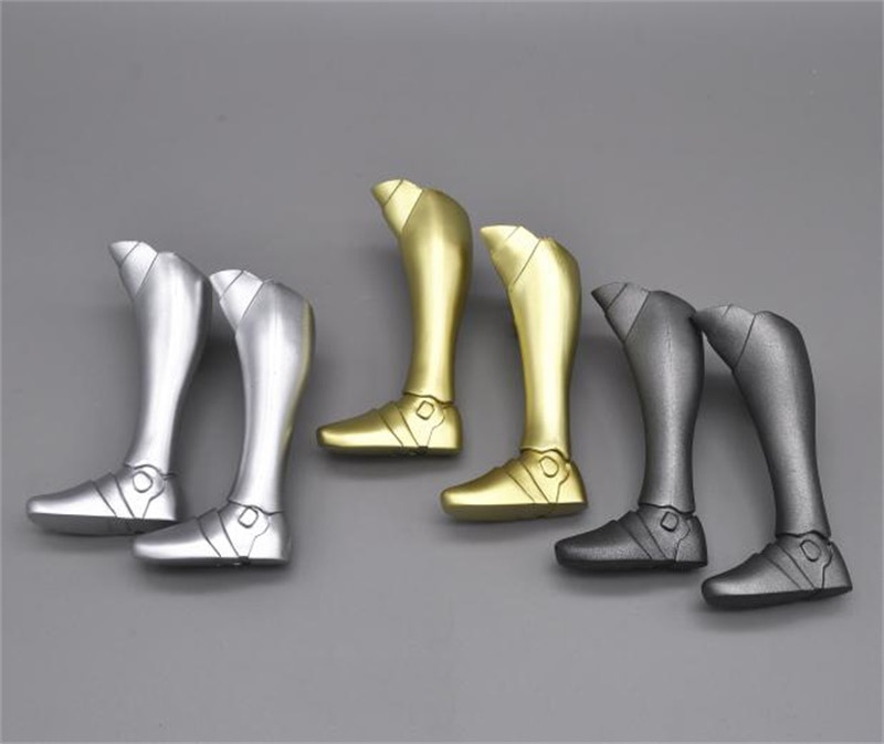 In Stock Scale 1/6 Model 3 Types Of Middle Age Female Women's Armor Boots For Mostly 12 Inch Action Figures