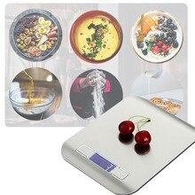 5KG / 10KG balance de cuisine électronique balance alimentaire numérique en acier inoxydable balance LCD haute précision outils de mesure