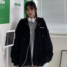 Hong Kong Style Waitmore Sweater for Women 2020 Loose Korean Style Ins Idle Style BF Thin Couple Wea
