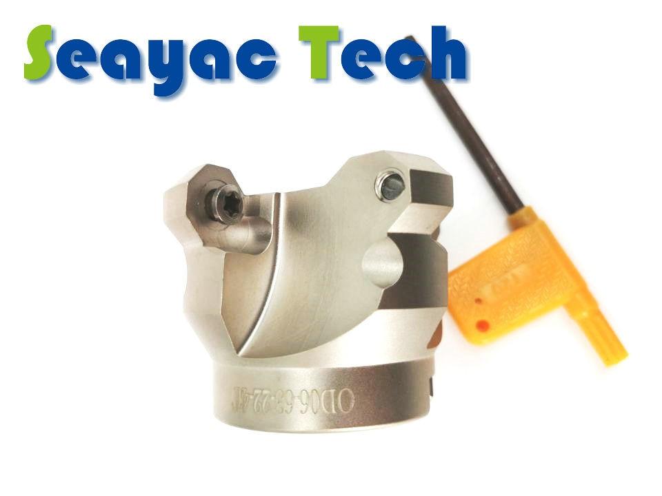 قرص الطحن ذو التغذية السريعة ، آلة القطع CNC OD ، رأس القناع