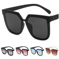 women sunglasses square sun glasses twist temples design goggles anti uv spectacles oversize frame eyeglasses eyewear a