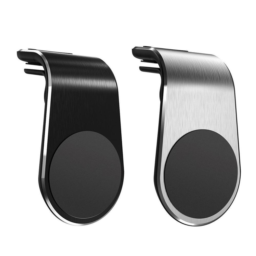 Магнитный автомобильный держатель для телефона Tideok, l-образный держатель на вентиляционное отверстие, автомобильный GPS мобильный телефон