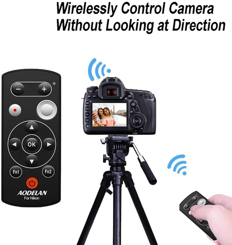 AODELAN اللاسلكية بلوتوث كاميرا التحكم عن بعد مصراع الإفراج ML-L7A لنيكون A1000 B600 P1000 P950 Z50 ، استبدال نيكون ML-L7