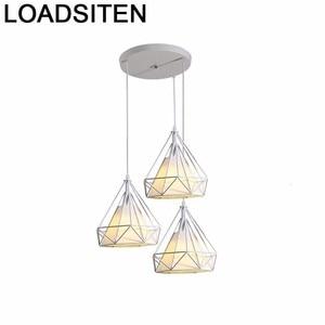 Home Luminaire Industrial Vintage Light Candiles Modernos Nordic Lampara De Techo Colgante Moderna Deco Maison Hanging Lamp