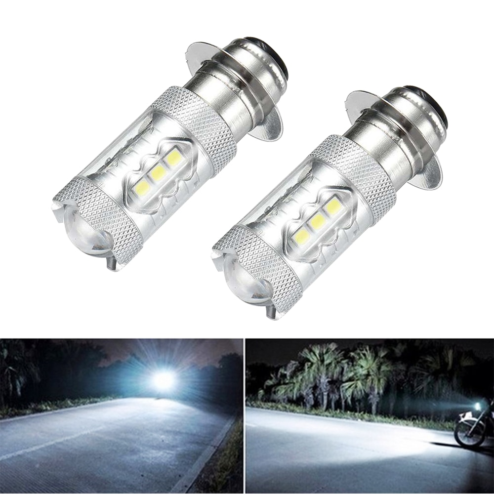 2 uds faros modificados LED de motocicleta de alta calidad lámparas de freno para automóvil bombillas de luz diurna para coche bombillas de marcha atrás intermitentes