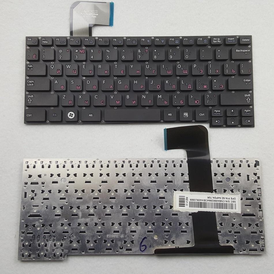 Ruso teclado del ordenador portátil para Samsung X128 X130 X123 X125 X180 X280 NF210 NF310 N250. Diseño