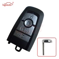 kigoauto a2c93142400 smart key case 4 button for 2017 ford mondeo hs7t 15k601 cb