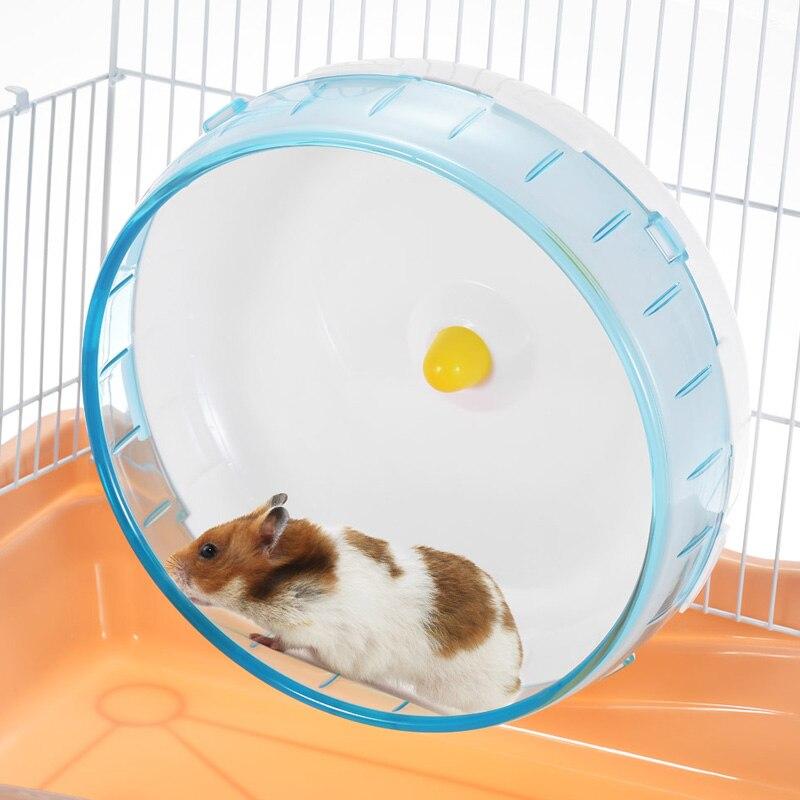 Hamster laufrad Disc Spielzeug Stille Rotatorische Jogging Rad Haustier Sport Rad Spielzeug TN99