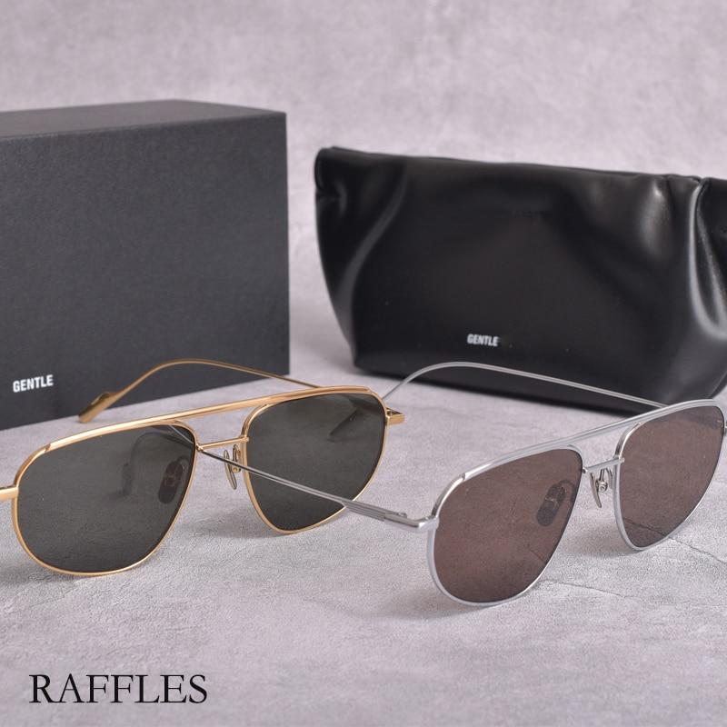 2021NewV brand FashionKoreaBrand GM sunglass womenMetal pilot sunglasses GENTLE RAFFLES