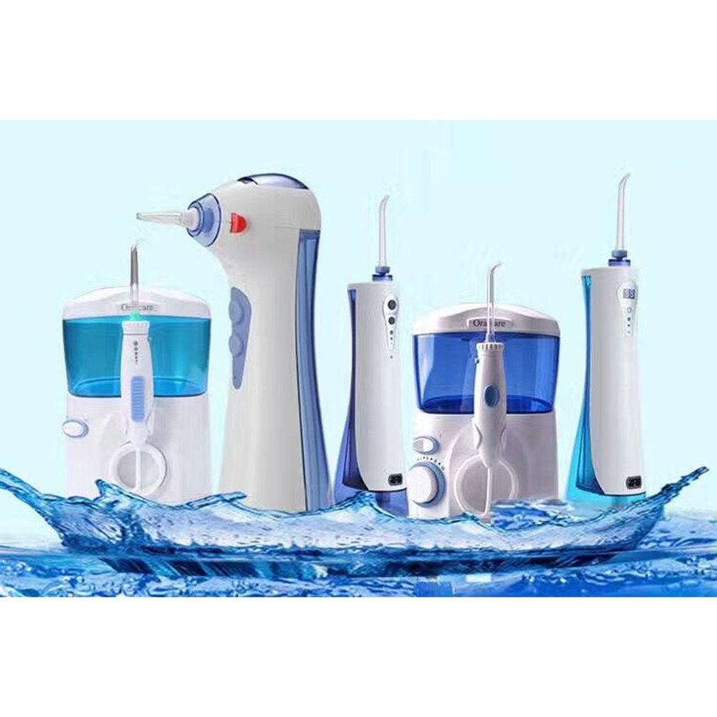 Pratical Electric Teeth Washing Machine Waterflosser Electric Water Jet Pick Flosser Oral Irrigator enlarge