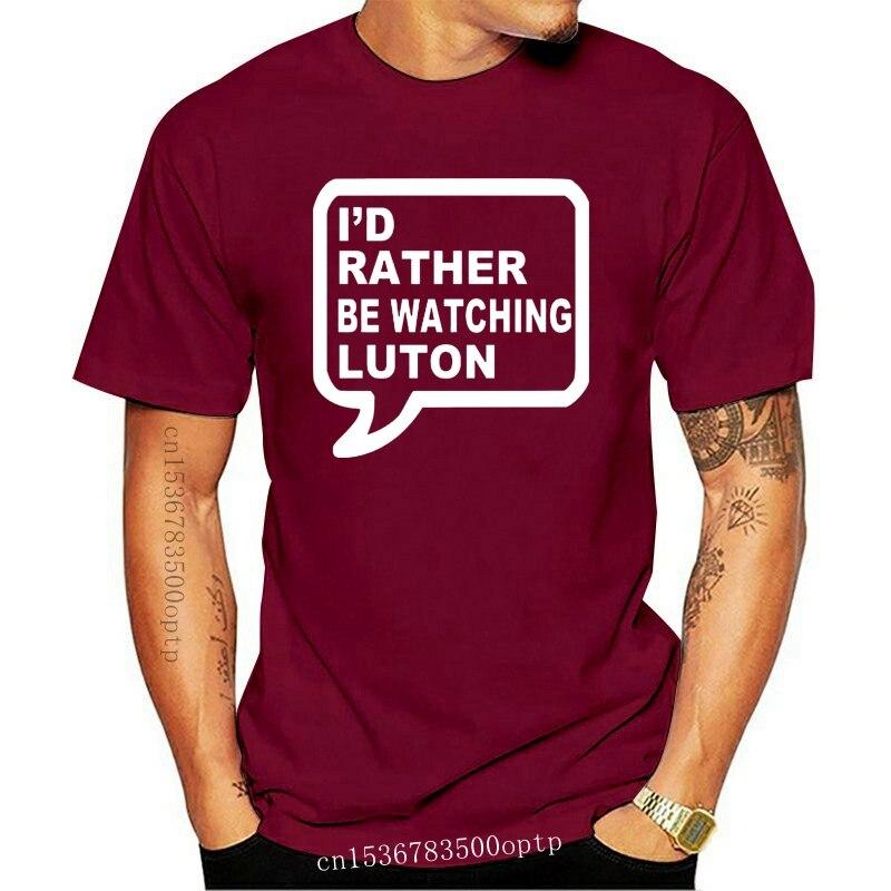 Camiseta de fútbol de Luton, camiseta con signo de tren