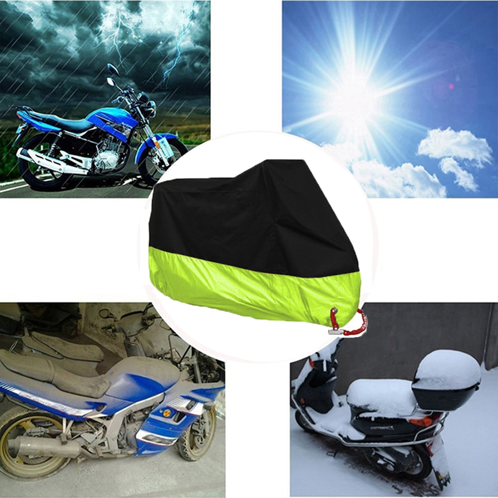 Cubierta de la motocicleta para KTM 250 Suzuki Sv650 F850Gs R1250Gs humo Mt 07 Ktm 1190 aventura Bmw 1200 Gs Dyna Yzf r3 # L5O010