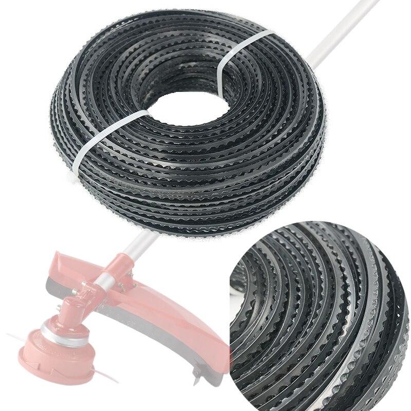 HUNDURE 3.0mm Trimmer Brushcutter Head Saw Line For 20cc 23cc 25cc 30cc 35cc Grass Strimmer Universal Nylon Rope 60M Black
