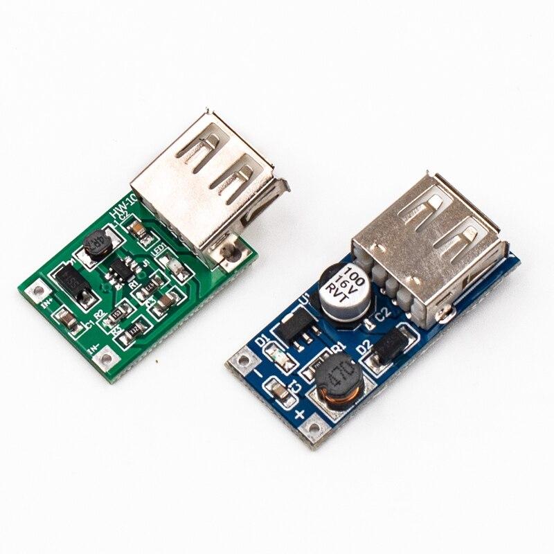 DC-DC boost module (0.9 v ~ 5 v) 600ma boost converter step up módulo usb placa de impulso de energia móvel tp4056 18650