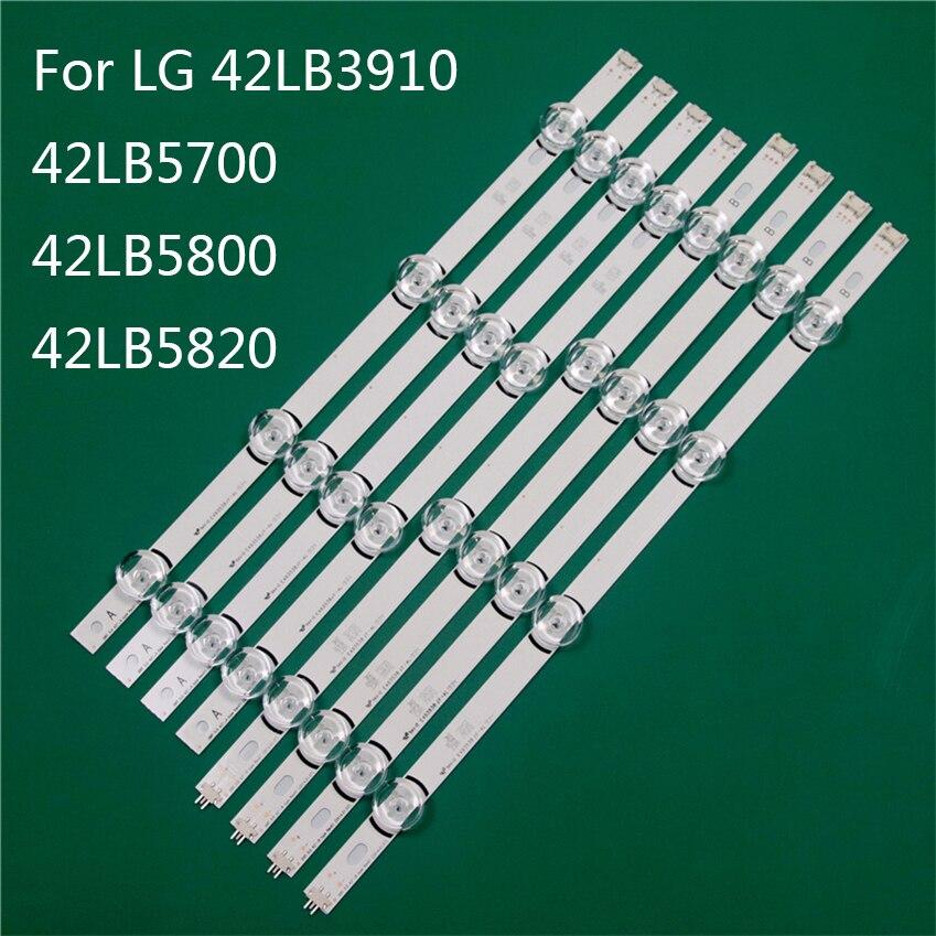 قطعة غيار لإضاءة تلفزيون LED ، شريط إضاءة LED ، شريط إضاءة خلفي ، مسطرة خط DRT3.0 42 A B ، لـ LG 42LB5700 42LB5800 42LB5820 42LB3910