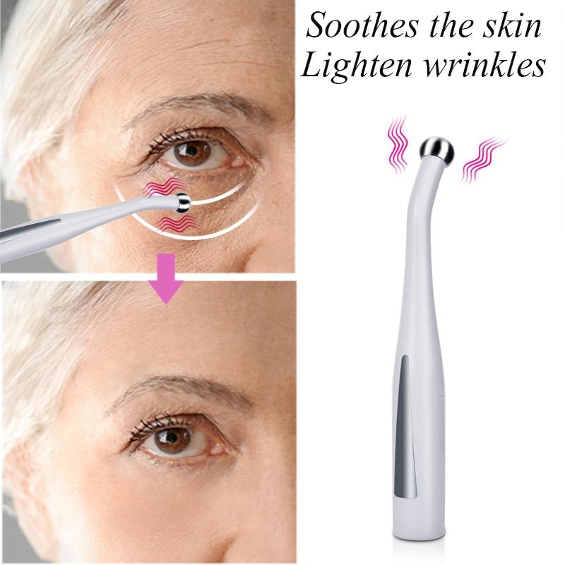 Fashion Skin Care Instruments Beauty Health Inductive Type Anti Aging White ABS Induction Massage Ap