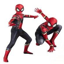 Disfraz de Spiderbay para hombre, traje increíble de Spiderman para Halloween, traje de Peter Parker Zentai, traje de superhéroe para niños y adultos, 15 estilos