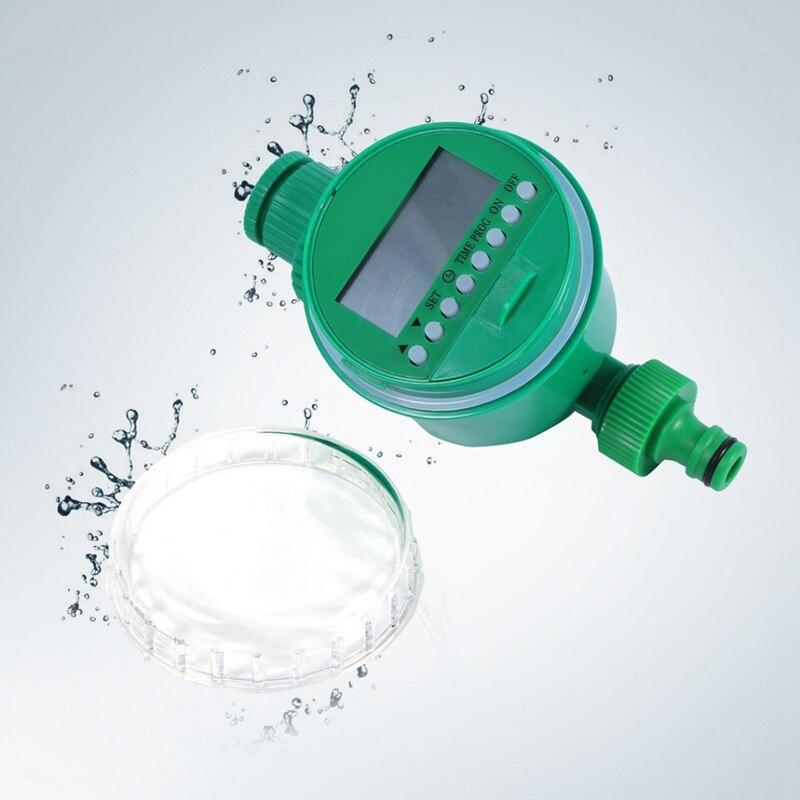 2 шт. ЖК-дисплей автоматический электронный таймер воды сад орошения контроллер Соленоидный клапан цифровой лигенции полива Syst