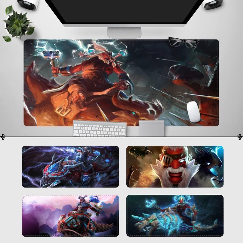 Резиновый игровой коврик для мыши Lycan Dota 2, игровой коврик для клавиатуры, Настольный коврик для мыши, игровые аксессуары для Overwatch