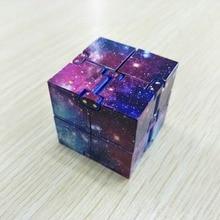 Fidget Toy autismo antistress creativo cubo infinito cubo magico ufficio Flip Puzzle cubico Stop antistress autismo giocattoli