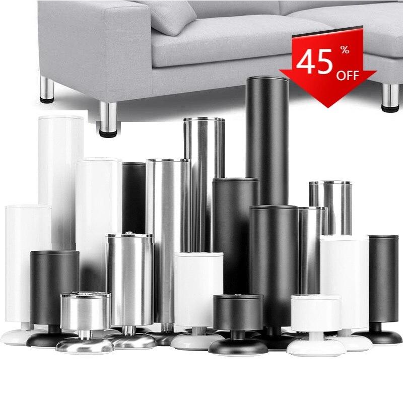 Регулируемые ножки для мебели из нержавеющей стали, сменные металлические ножки из нержавеющей стали для кушетки, шкафов, телевизоров, шкаф...