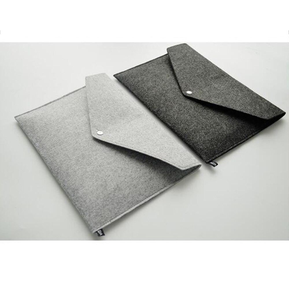 2 Pcs A4 File Folders Felt Folder Expanding Document Folder Portable Felt Holder Documents Folders Briefcase Bag(Dark Grey and