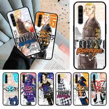 TOKYO REVENGERS noir Tpu Capa pour Realme 6 6i 5 5i C3 XT X2 Pro X50 5G Narzo 10 10A étuis Sac coque souple pour téléphone