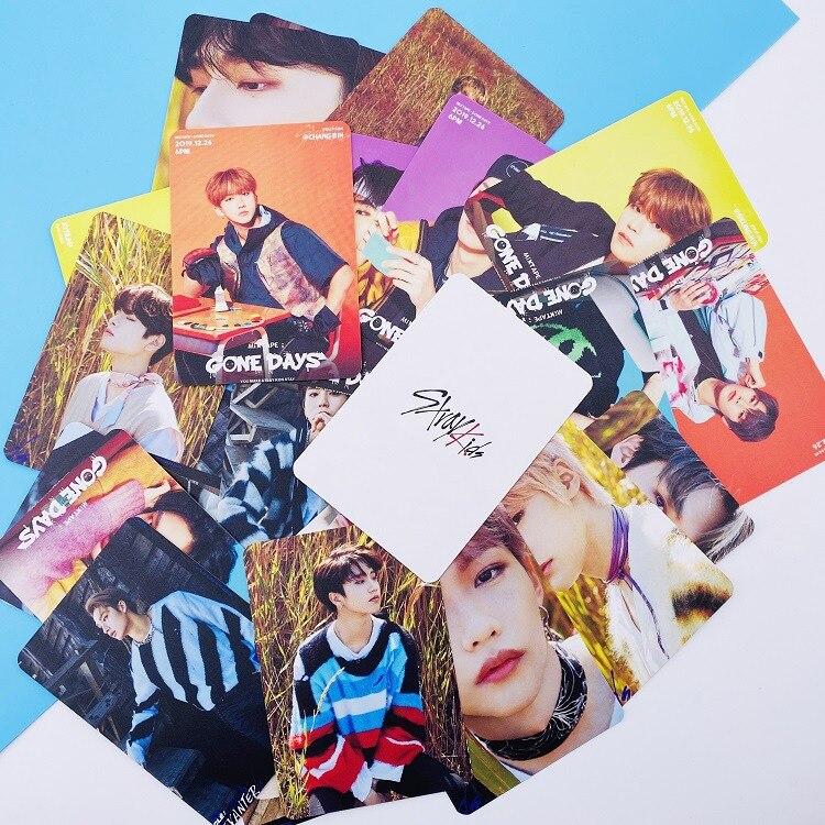 Straykids 8 штук/набор потерянных детская фотокарточек собирать новые Фотоальбомы для любителей K-pop ЛОМО карта высокого качества