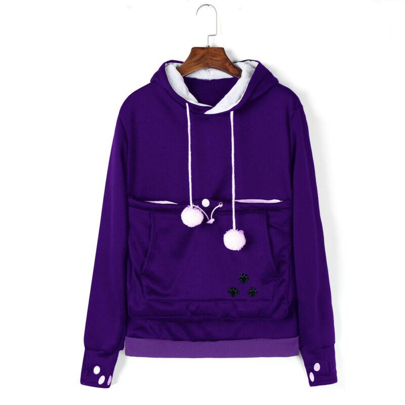 Womens Winter Loose Hoodies New Large Size Long Sleeves Casual  Sweatshirt Fashion Female Jumper Hooede Tops Coat Pullover Tops