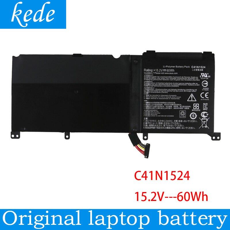 Kede batteria del computer portatile originale C41N1524 Per Asus N501VW G501VW N501VW-2B G60V Del Computer Portatile Tablet 15.2V 60Wh